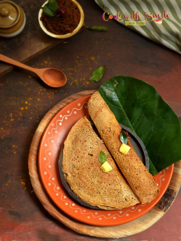 Raw jackfruit dosa