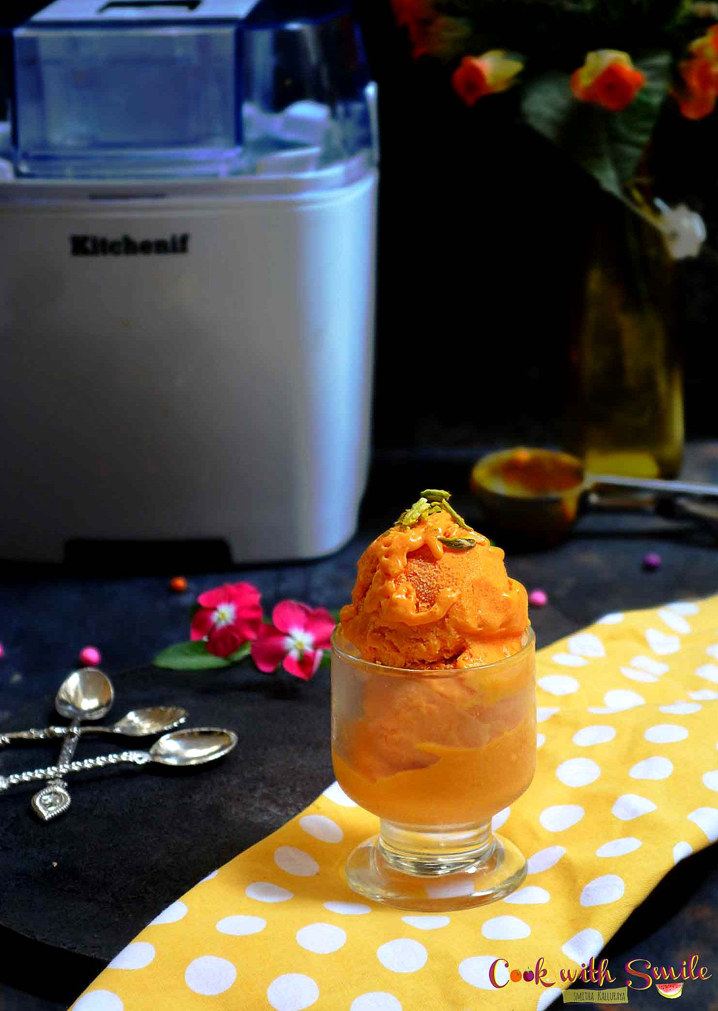 easy mango ice cream recipe