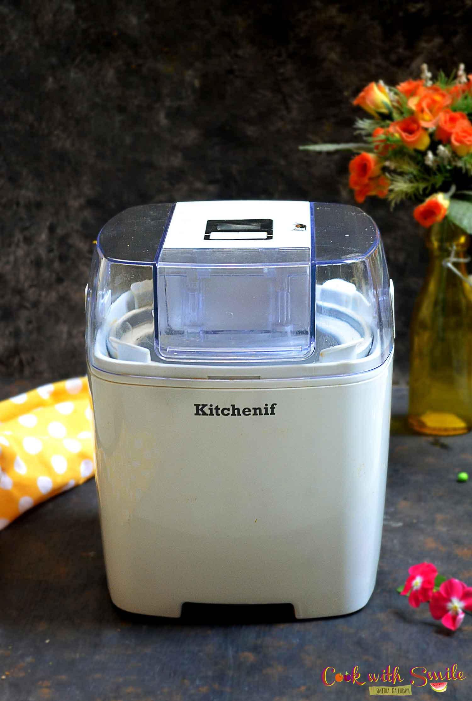 kitchenif icecream maker