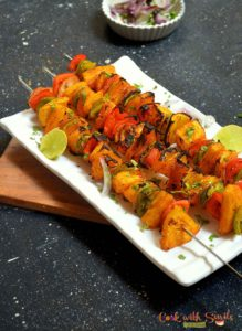 pineapple tikka