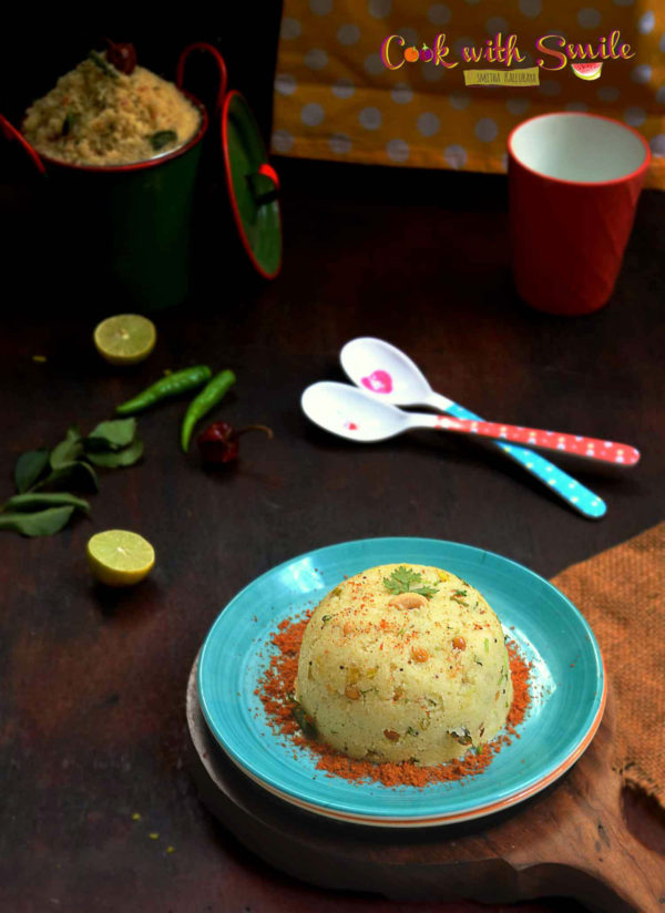 homemade rava upma mix
