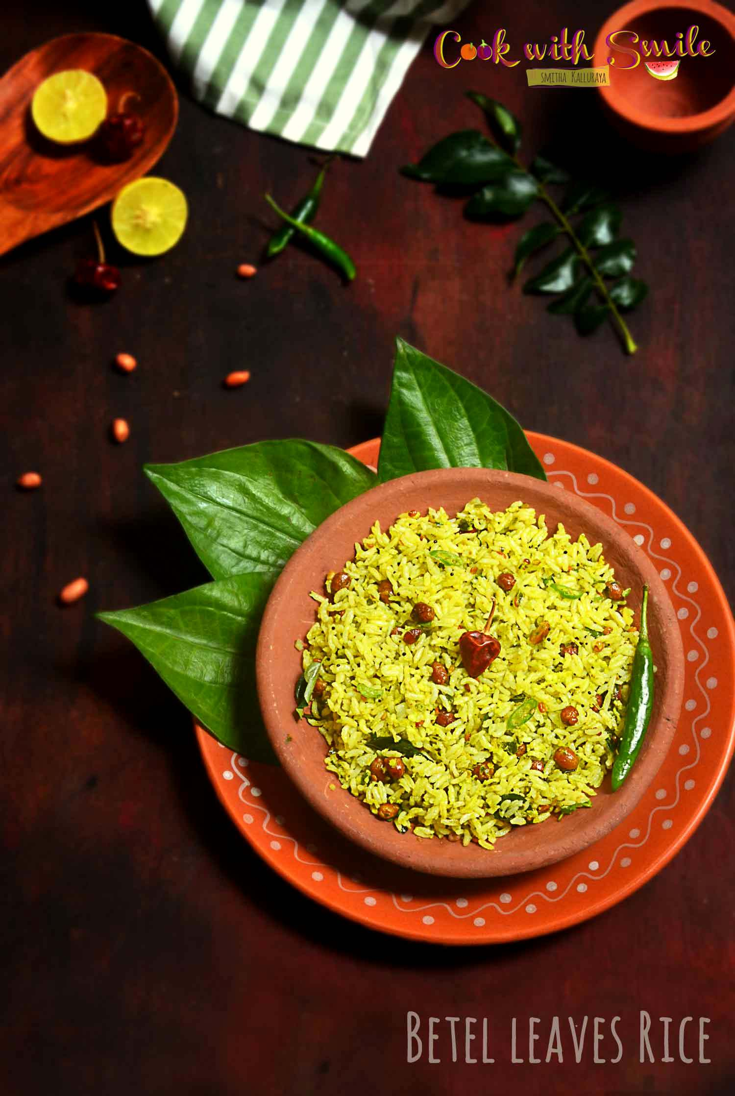 BETEL LEAVES RICE RECIPE
