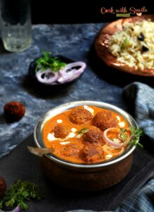 bottlegourd kofta curry