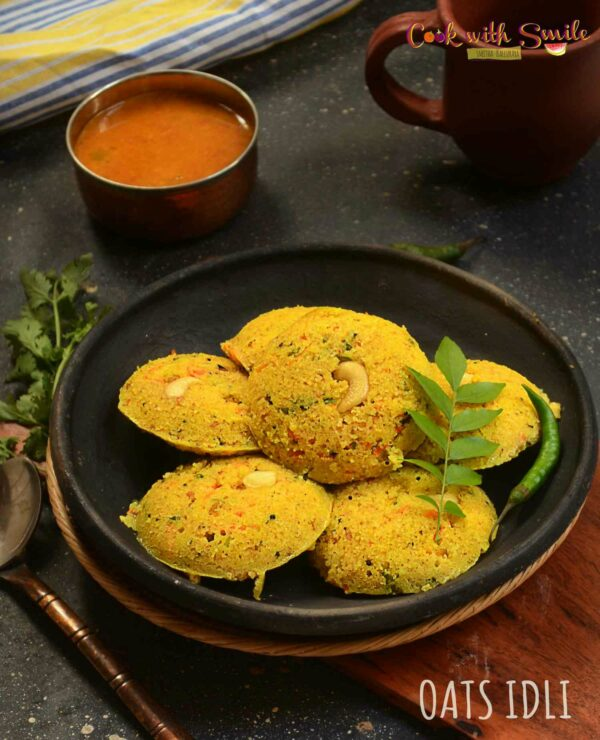 oats idli recipe