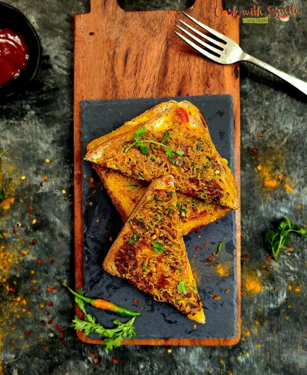 BREAD BESAN TOAST RECIPE