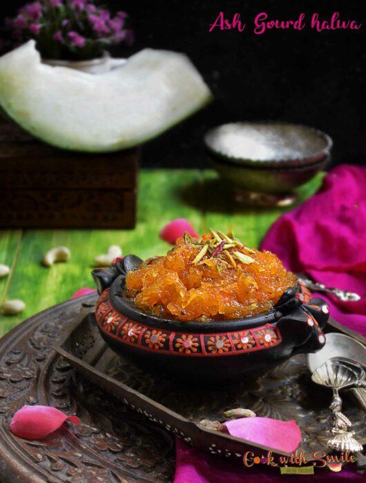 ash gourd-halwa