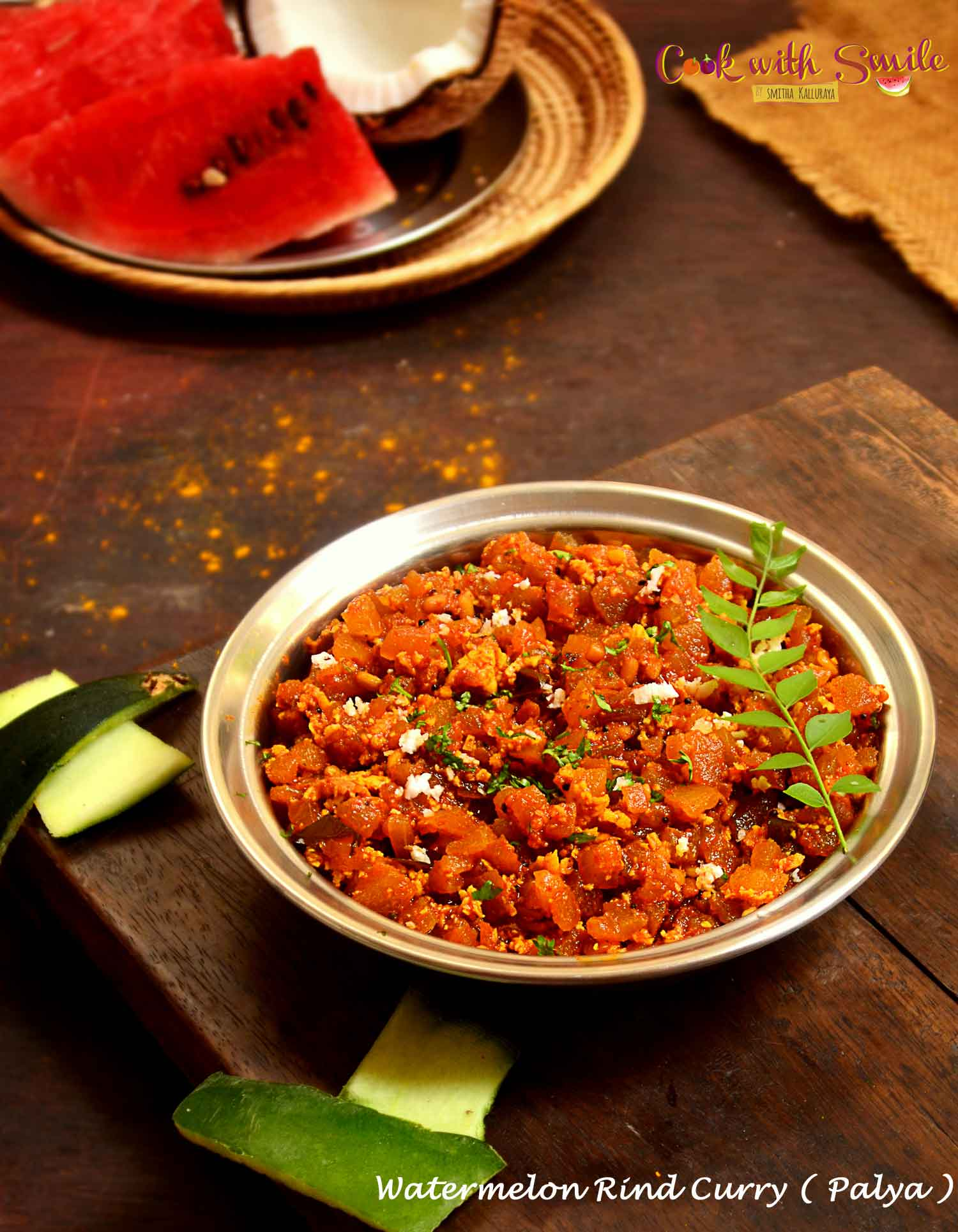 WATERMELON RIND CURRY