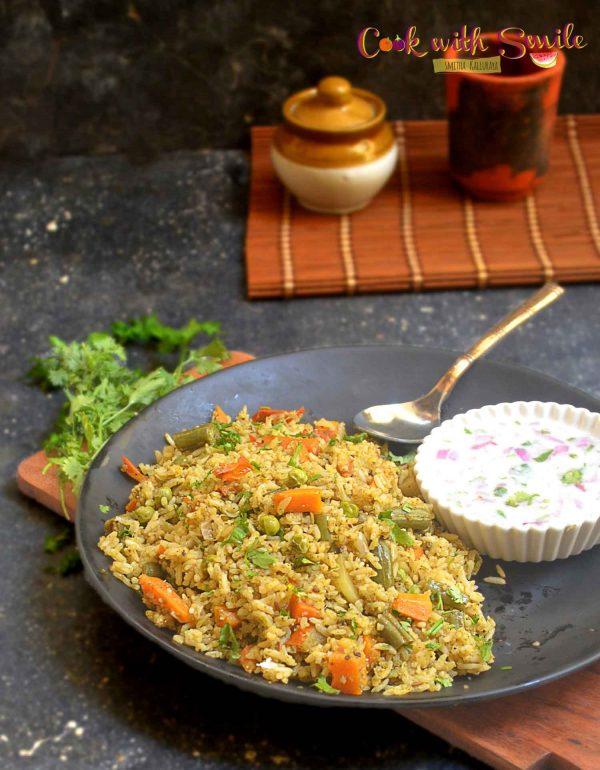 karnataka style veg pulao