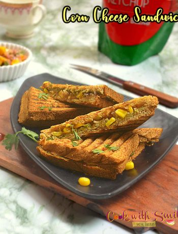 corn cheese sandwich recipe