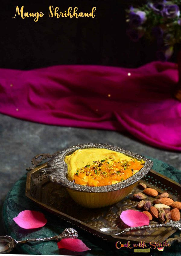 Mango shrikhand recipe