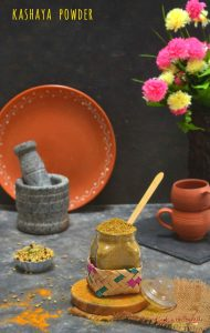 kashaya powder recipe