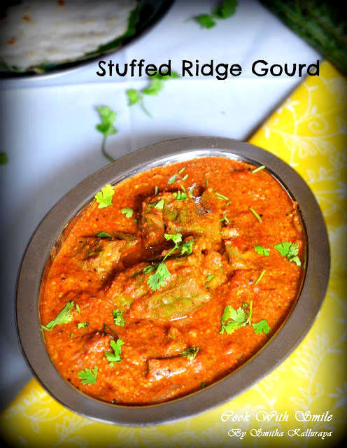stuffed ridge gourd