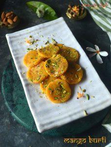 mango burfi recipe