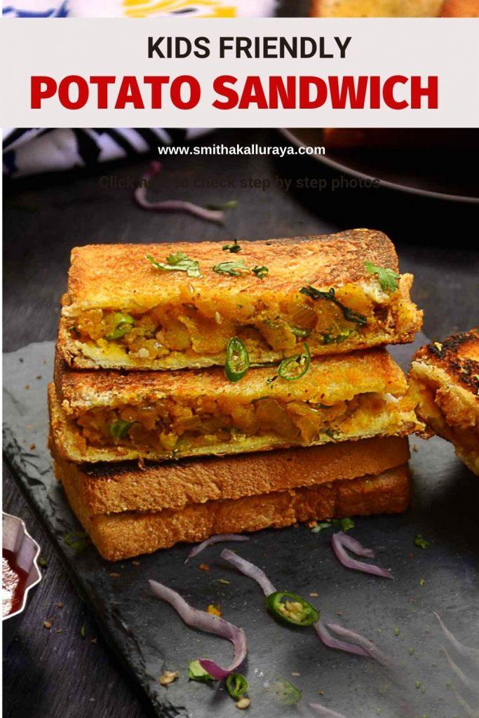 aloo sandwich recipe ,potato sandwich