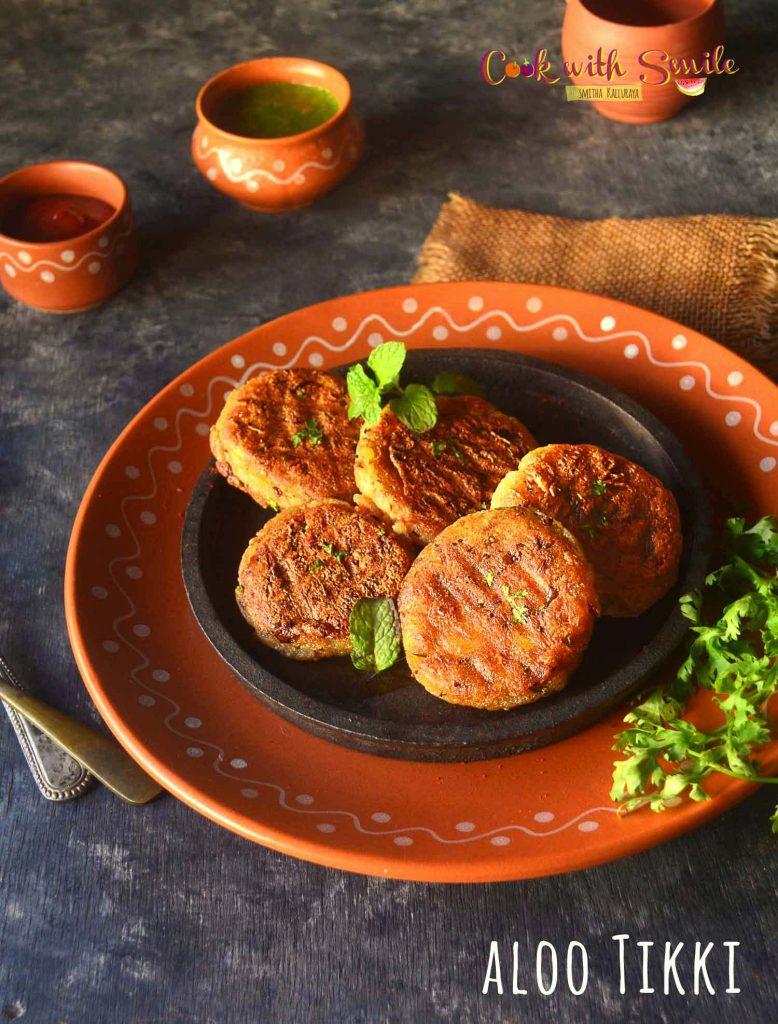 Aloo Tikki / Aloo Patties recipe