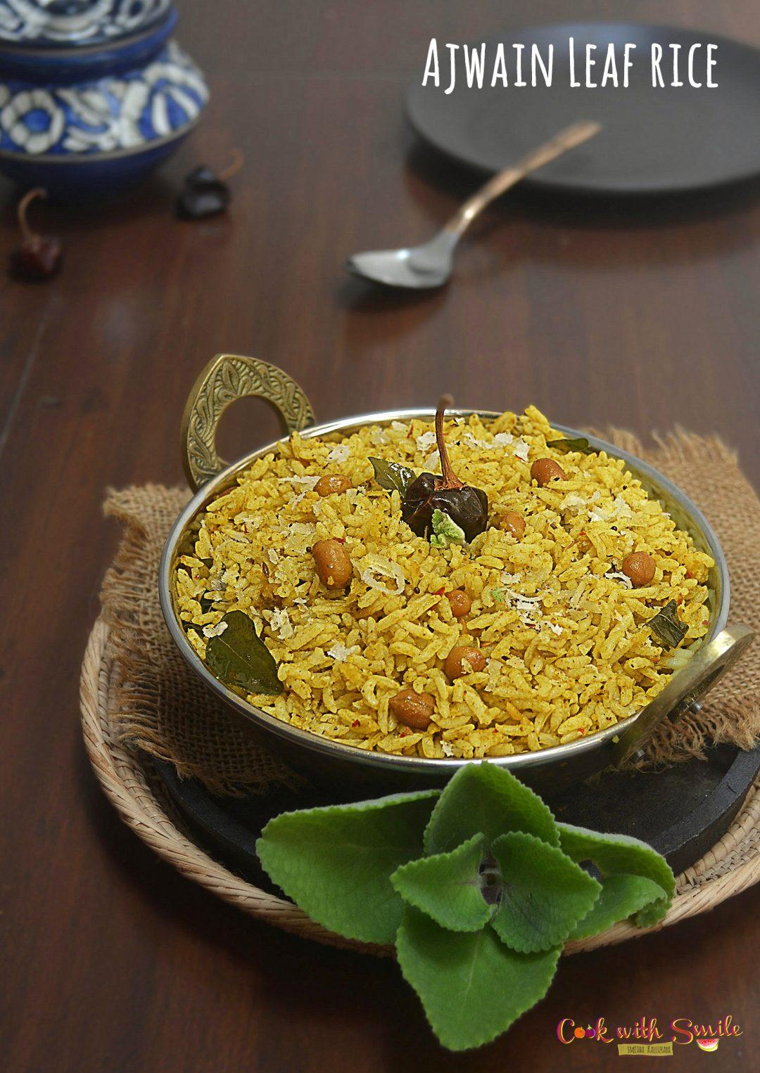 Ajwain leaf Rice